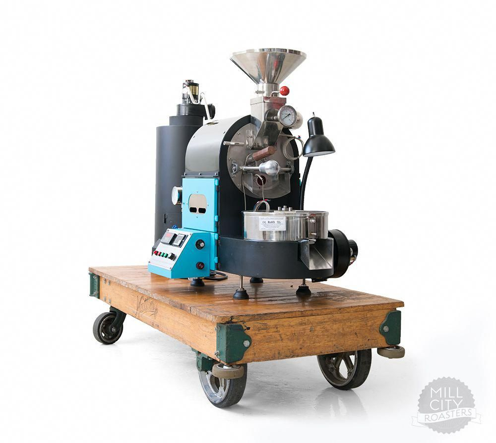 1kg Gas Coffee Roaster Mill City Roasters Coffee Roasting Roasted Coffee Beans Best Coffee Roasters