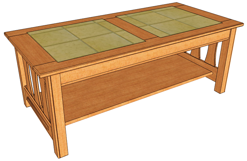 Wooden Coffee Table Woodworking Plans Diy Blueprints From Our Project This Do It Yourself Projects Category Features A