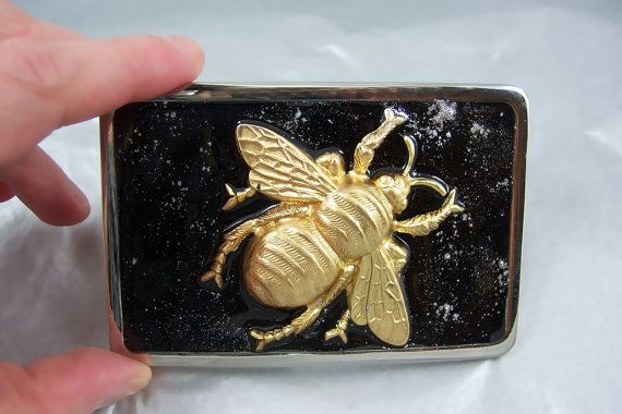 Belt Buckle Gothic Victorian Large Bee by EdwardianRenaissance, $54.00
