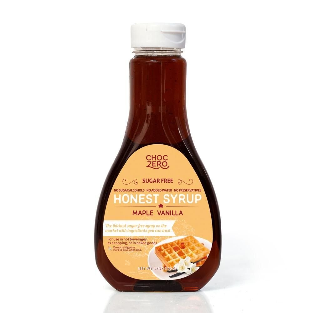 ChocZero | Honest Syrup | Maple Vanila | Ingredients: Liquid