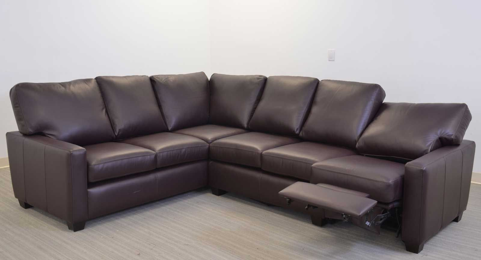 Maxwell Sofa Sectional with Incliner ‹‹ The Leather Sofa Company A ...