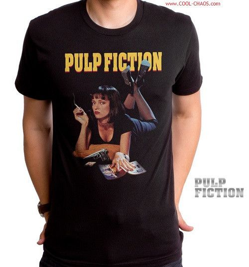 Pulp Fiction T-shirt / Gorgeous Mia from Pulp Fiction