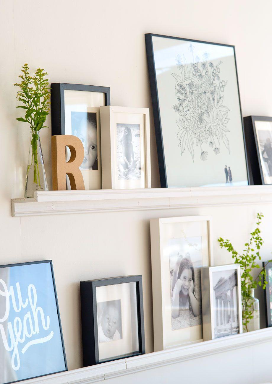 Cómo decorar las paredes sin hacer agujeros