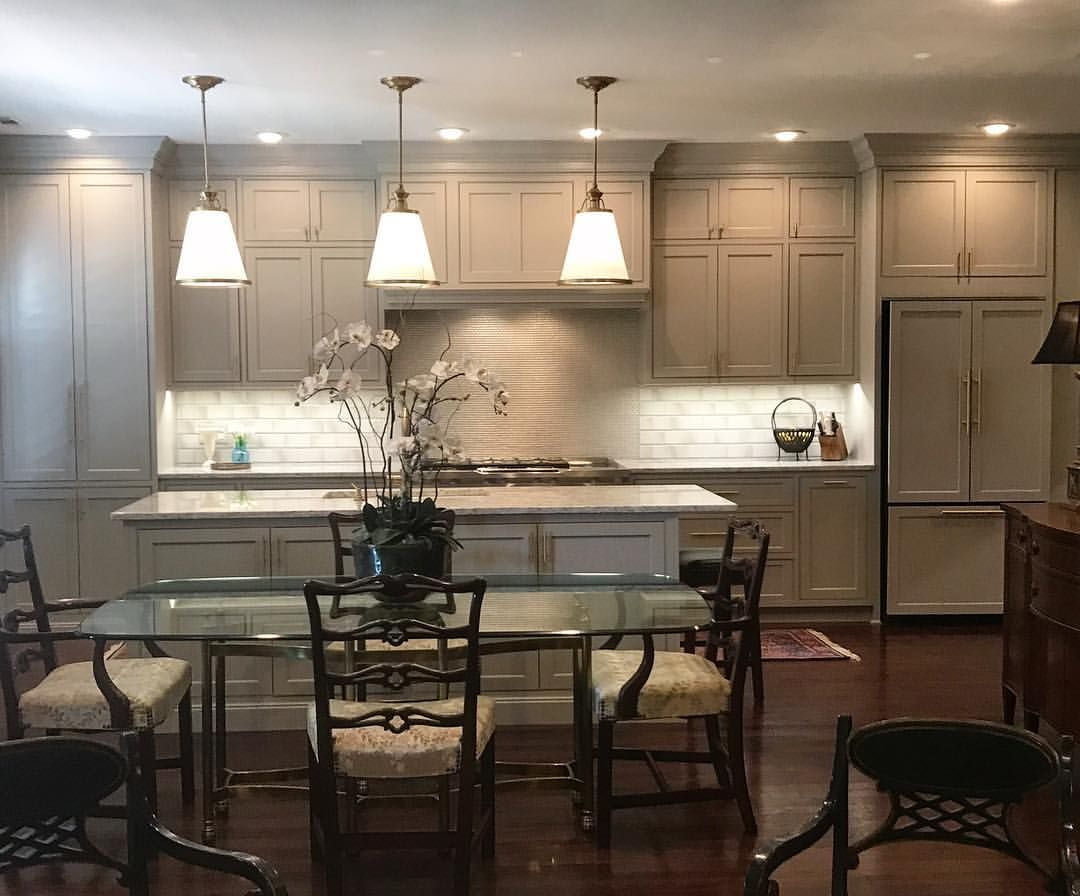 Best Sherwin Williams Anew Gray Cabinets Kitchen Remodel 400 x 300