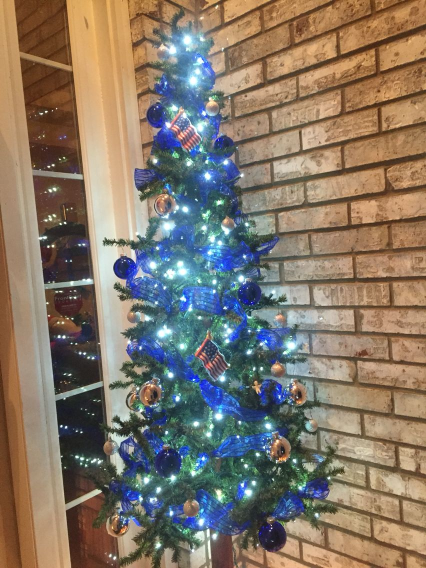 Air Force Christmas Tree Air Force Christmas Holiday Decor Christmas Tree