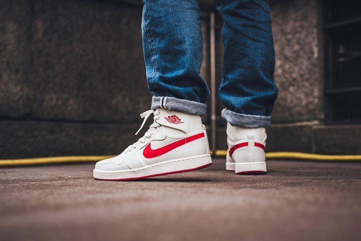 Still sizes left for the Nike Air Jordan 1 KO OG Sail Red. Check out