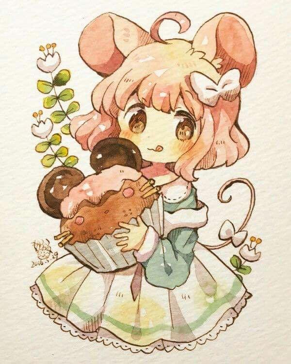 Pin By 芳瑜 張 On 女孩girl Cute Anime Chibi Anime Chibi Kawaii