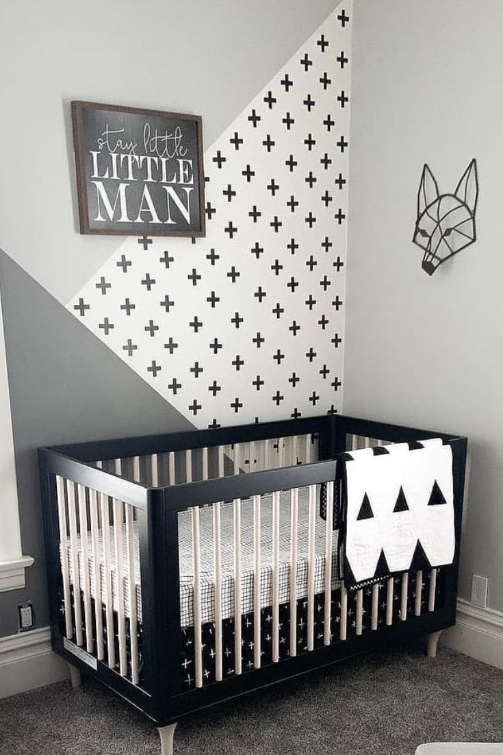 Beautifully Done Monochrome Nursery Decor Nursery Decor Black