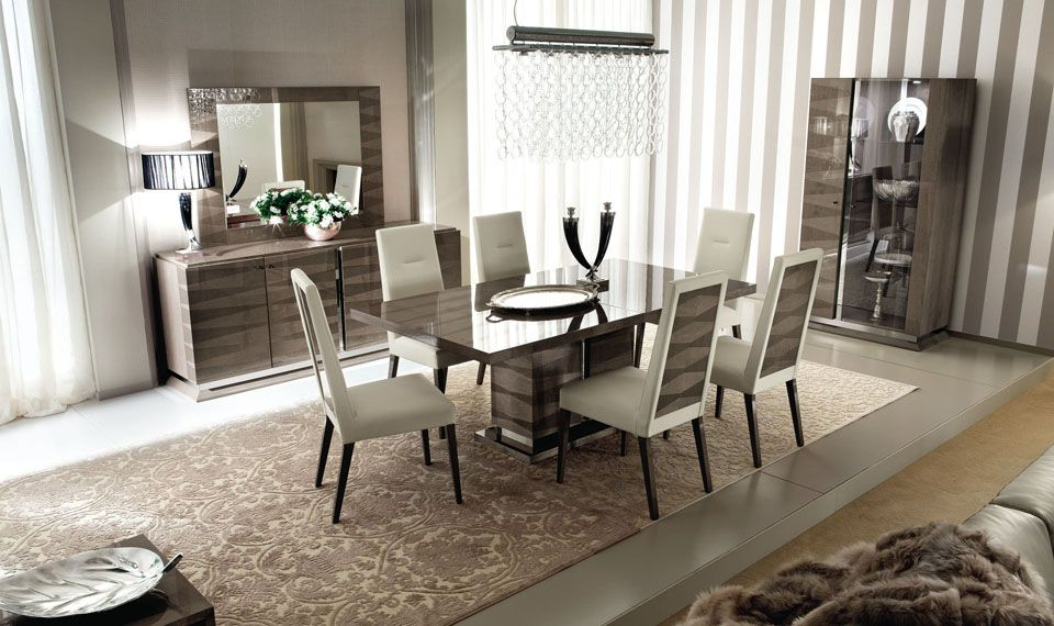 Introducing One Of Italys Newest And Richest Designs The Monaco Dining Set Is Presented In