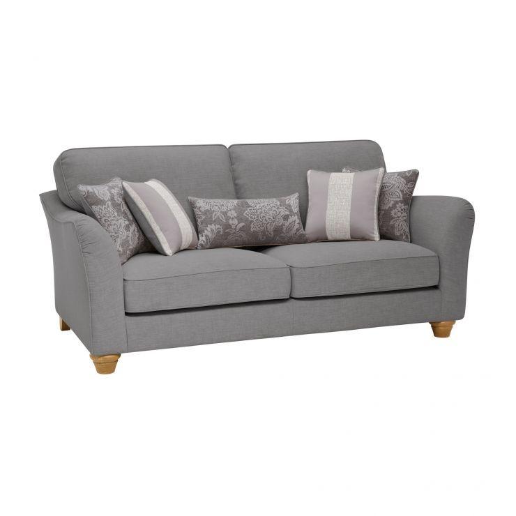 Regency 3 Seater High Back Sofa In Lyon