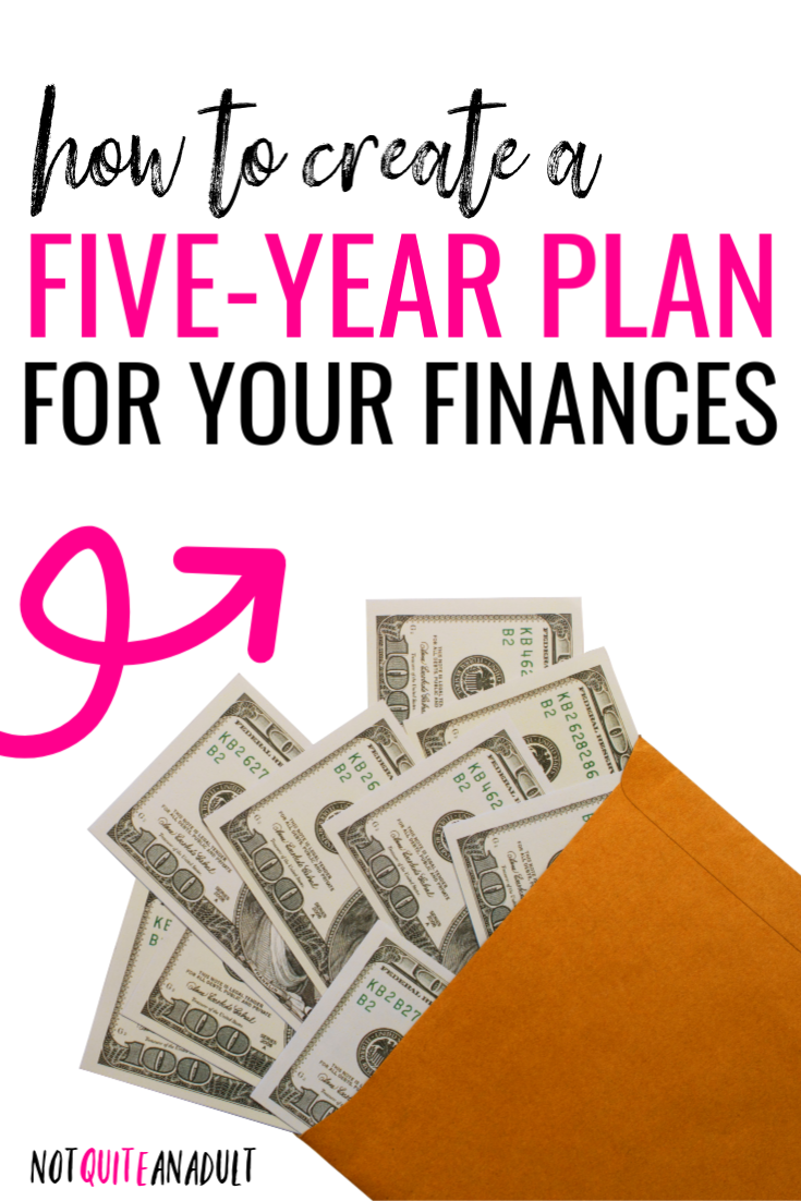 How to Create a Five Year Financial Plan Budgeting