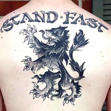 8353561b8 Best Scottish Lion Tattoo Idea | As | Lion tattoo, Lion tattoo ...