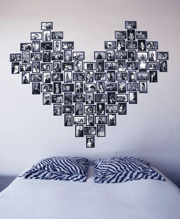 accrochez vos cadres sans clou ni vis decocrush chaque jour et grands coeurs. Black Bedroom Furniture Sets. Home Design Ideas