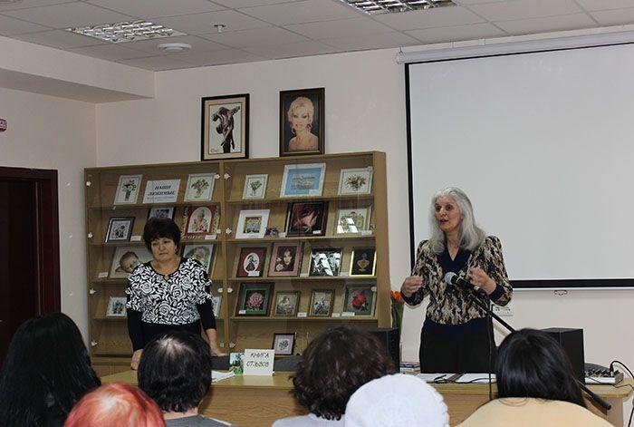 Відкриття виставки «Наші любі…»: вітальне слово Ірини Андріївни Рубаєвої