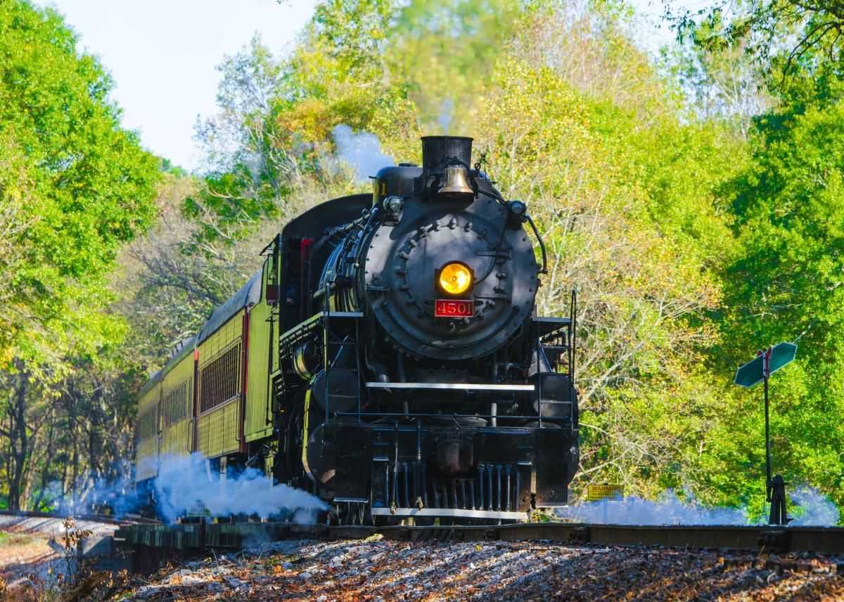 Museums are meant to connect us with our past, but the Tennessee Valley Railroad Museum literally transports you to another era.