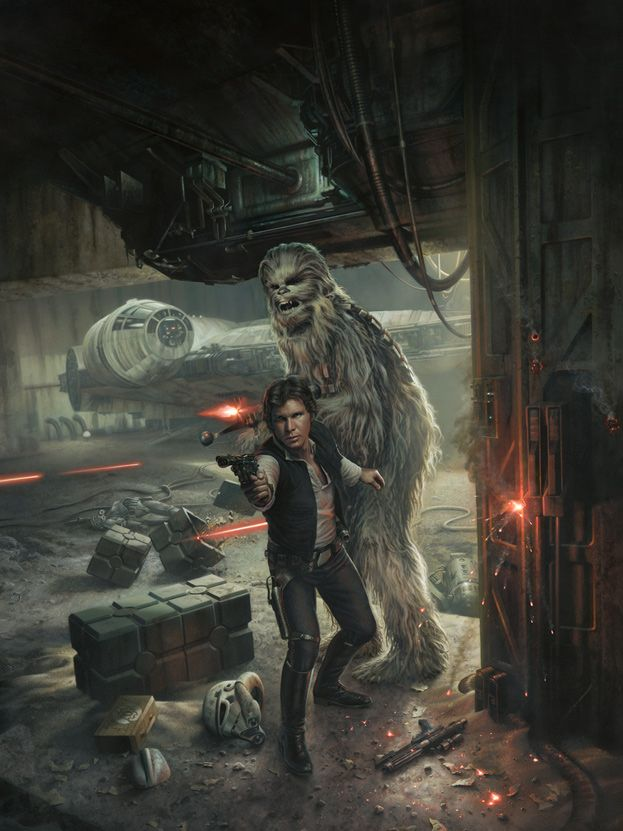 Always Star Wars Contraband By Very Talented Jerry Vanderstelt Star Wars Art Star Wars Illustration Star Wars Artwork