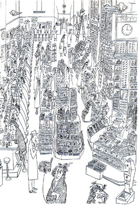 reproduced in saul steinberg the art of living new york project