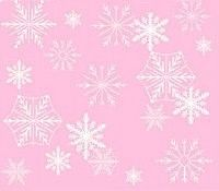 Hot Sale Winter Onederland Snowflake Snow Frozen Bokeh Pink