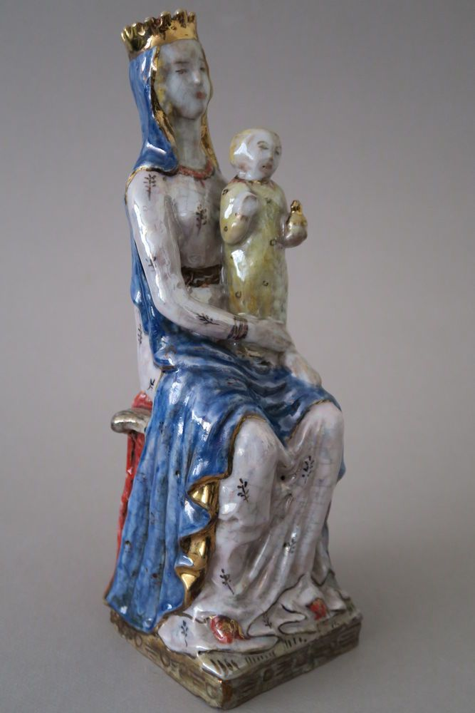 Eugenio Pattarino Epf Ceramic Pottery Madonna Amp Child