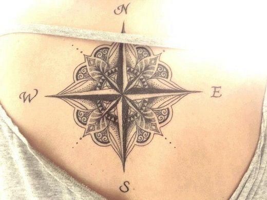 Amazing Compass Tattoo Ideas Best Tattoo 2015 Designs And Ideas
