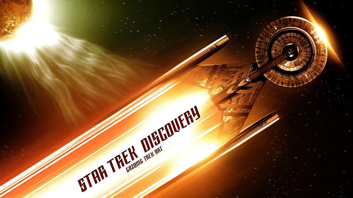 Star Trek Discovery Wallpaper Star Trek Wallpaper Series 7 Discovery By Gazomg On Deviantart Star Trek Wallpaper Star Trek Star Trek Tattoo