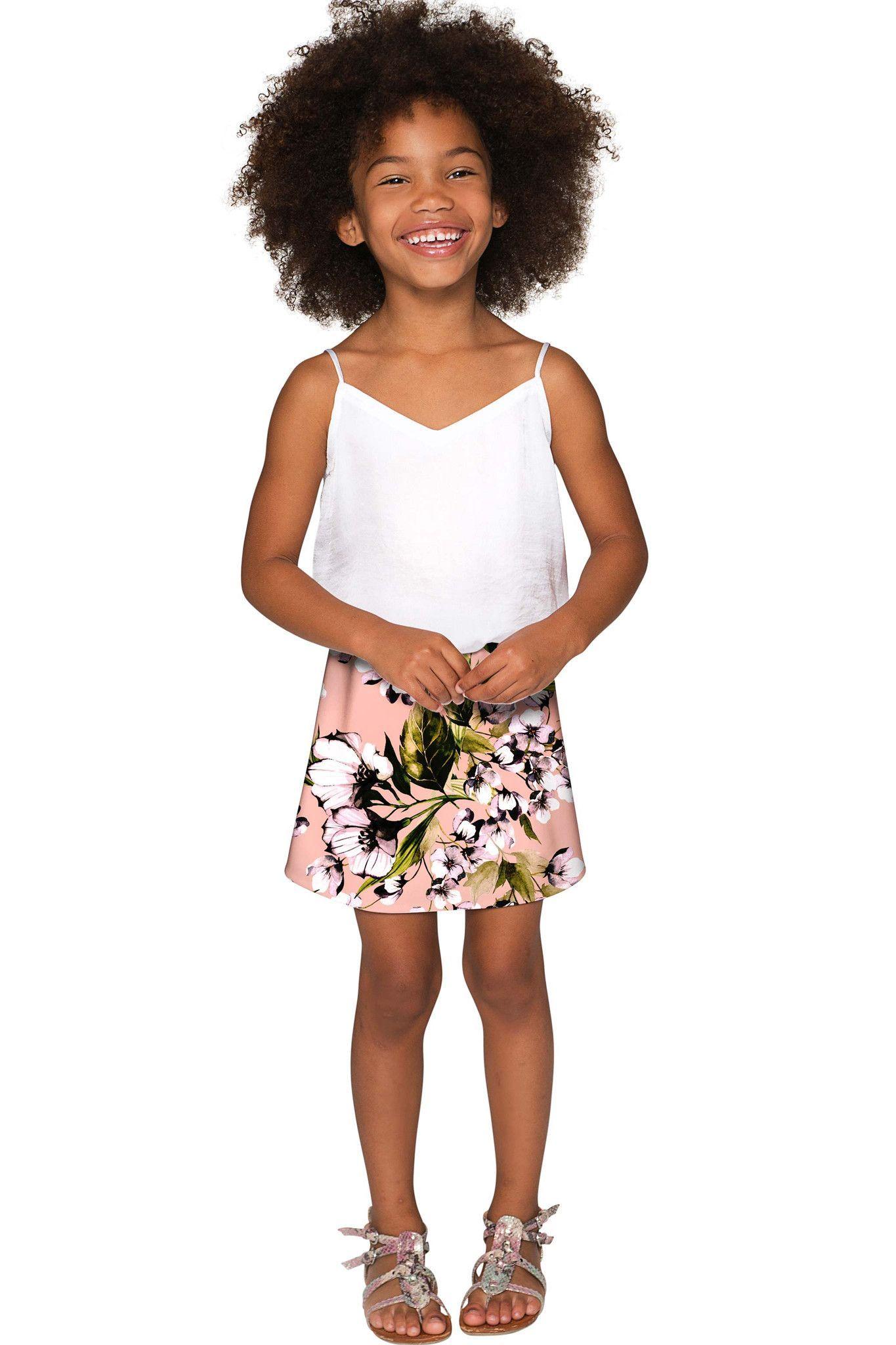 Ooh Darling Aria A-Line Skirt - Girls