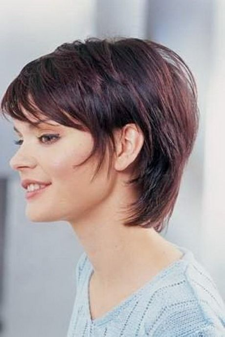 Damen Frisuren Halblang Frisur Pinterest Haircut Styles And Bobs