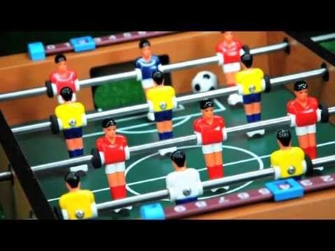 Mini Futbolín, que grande! http://www.youtube.com/watch?v=DcWQa8NaVxY