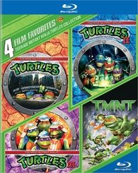 Teenage Mutant Ninja Turtles: 4 Film Favorites (Blu-ray)