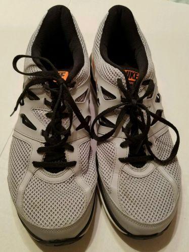 online store 4cc13 b19f0 Nike-Dual-Fusion-Lite-Men-039-s-Gray-Black-Orange-Running-Shoes-11-5M-599513