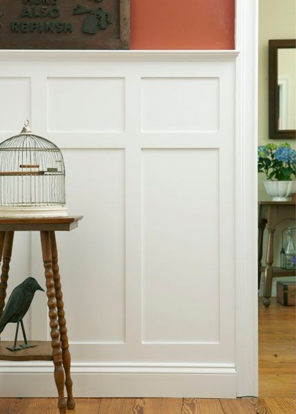Wainscot solutions chris kauffman has done some for Examples of wainscoting