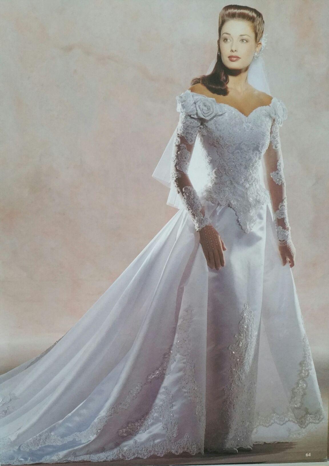 Demetrios 1995 Wedding dresses, Wedding dress long
