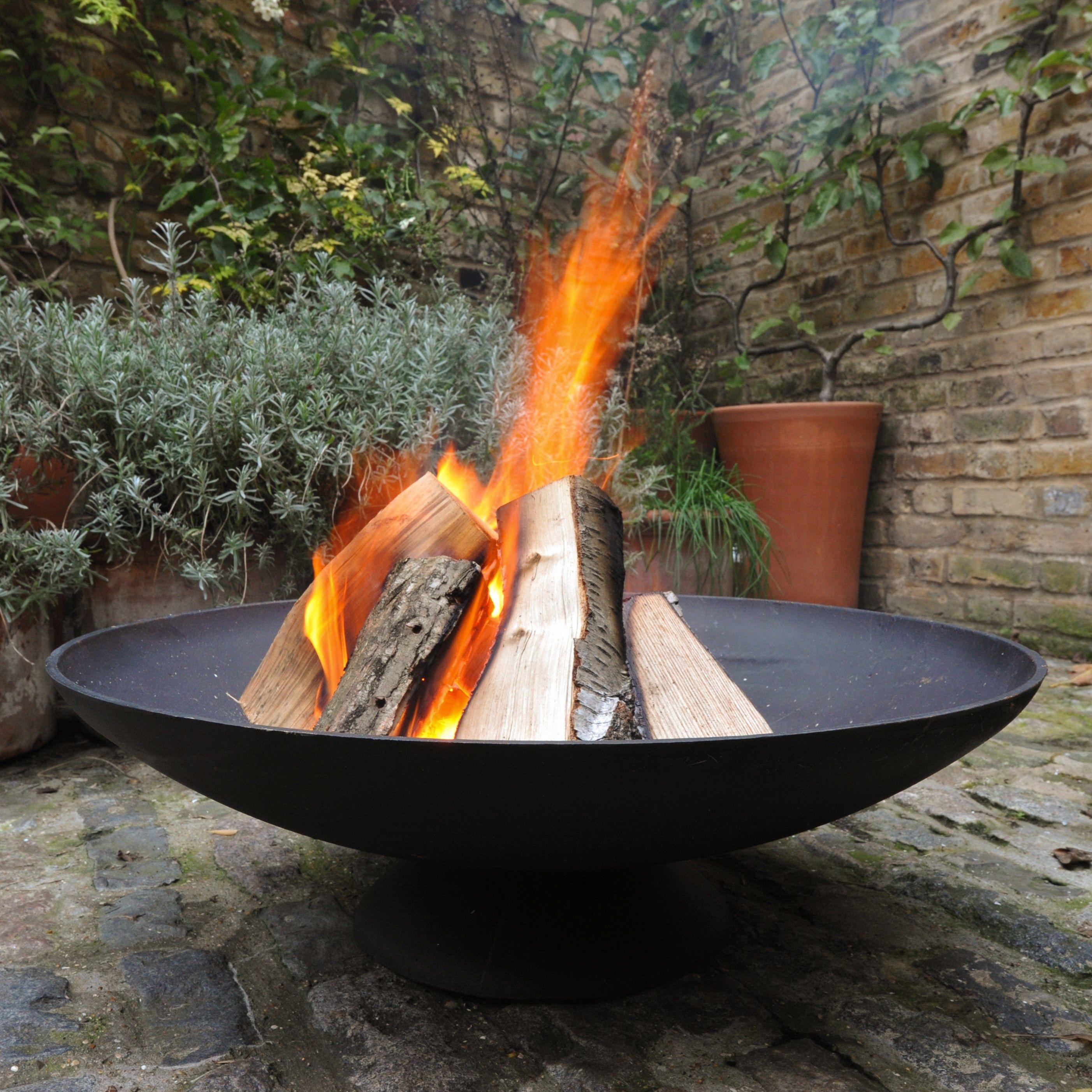 Cast Iron Disc Fire Pit Fire Pit Backyard Outdoor Fire Fire