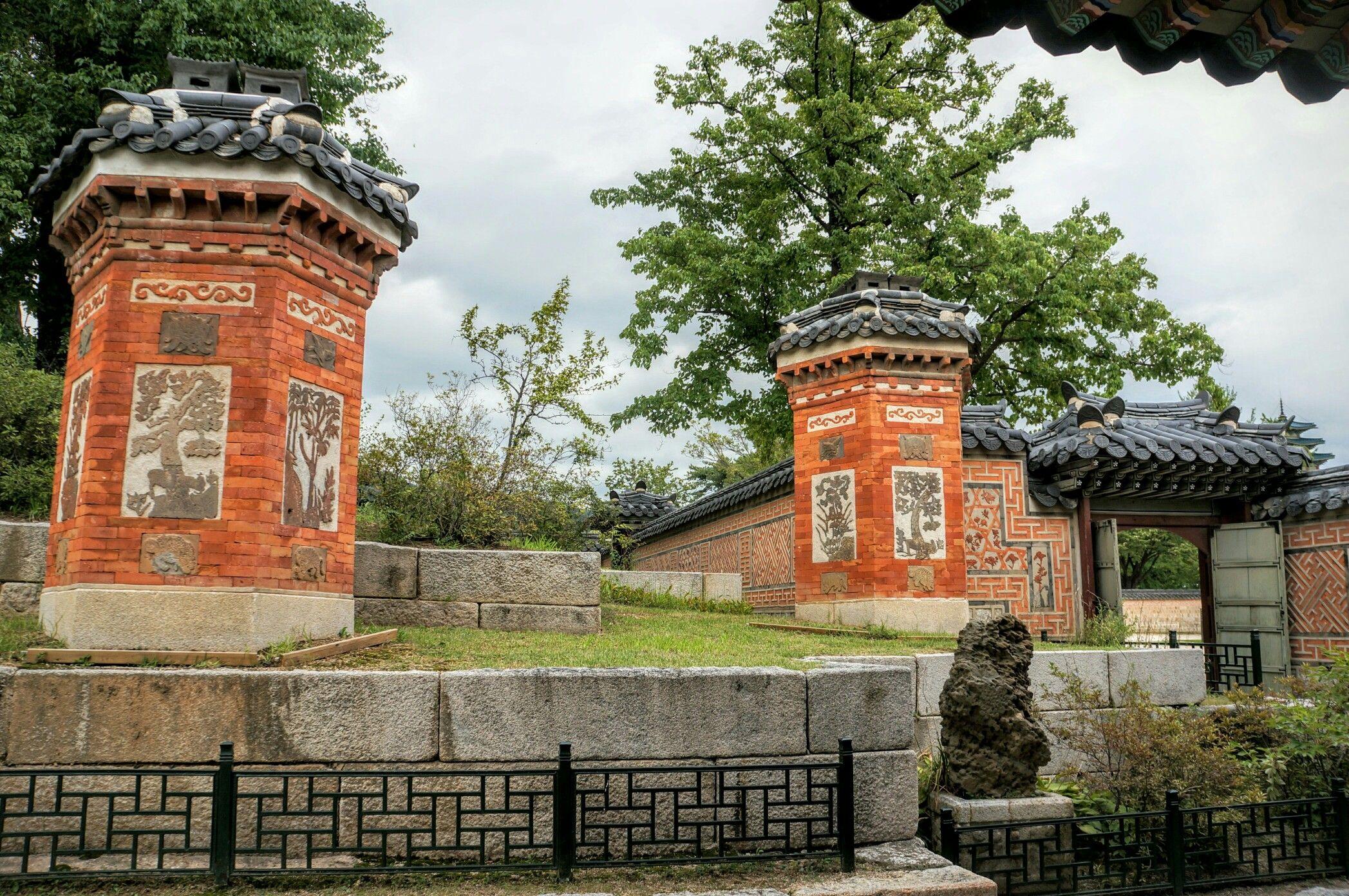 서울 경복궁 교태전 후원
