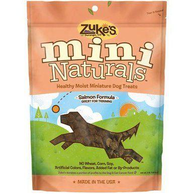 Zuke S Mini Natural Healthy Moist Savory Salmon Recipe Dog
