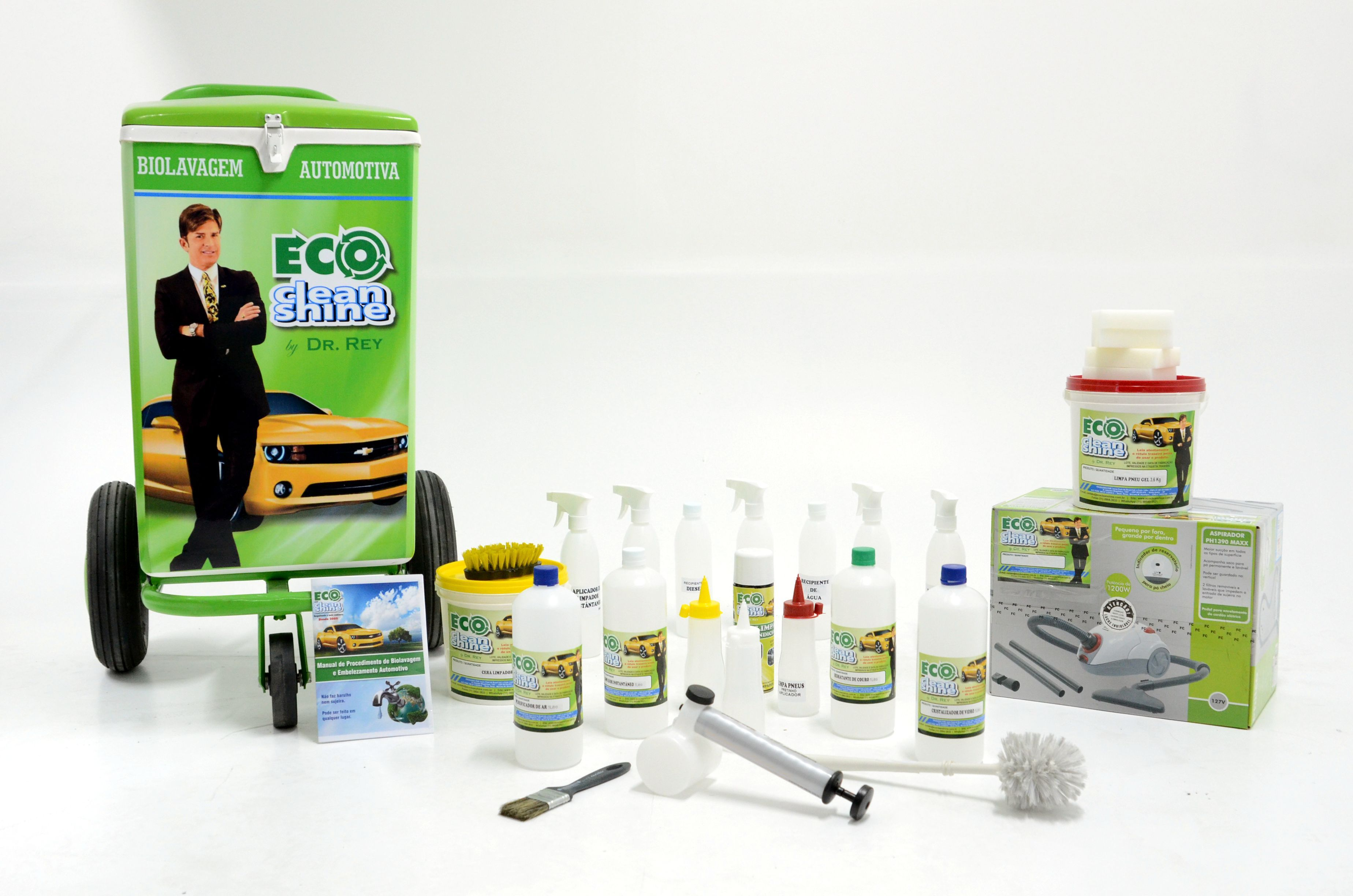 Kit 1 Completo Eco Clean Shine Dr Rey Valor R 4999 00 Gratis 1