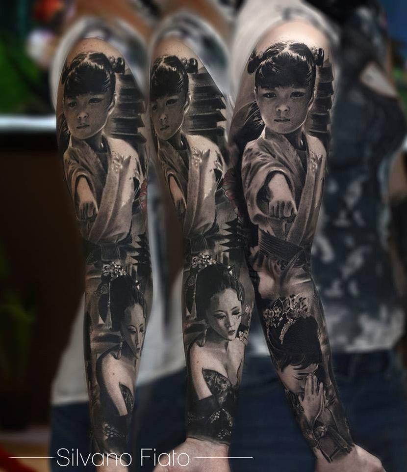 Oriental Tattoo http://tattooideas247.com/oriental-tattoo/