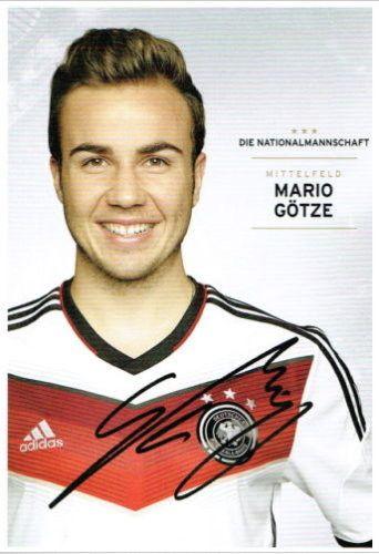 Gotze Mario Wm 2014 Mario Gotze Fussball Nationalmannschaft