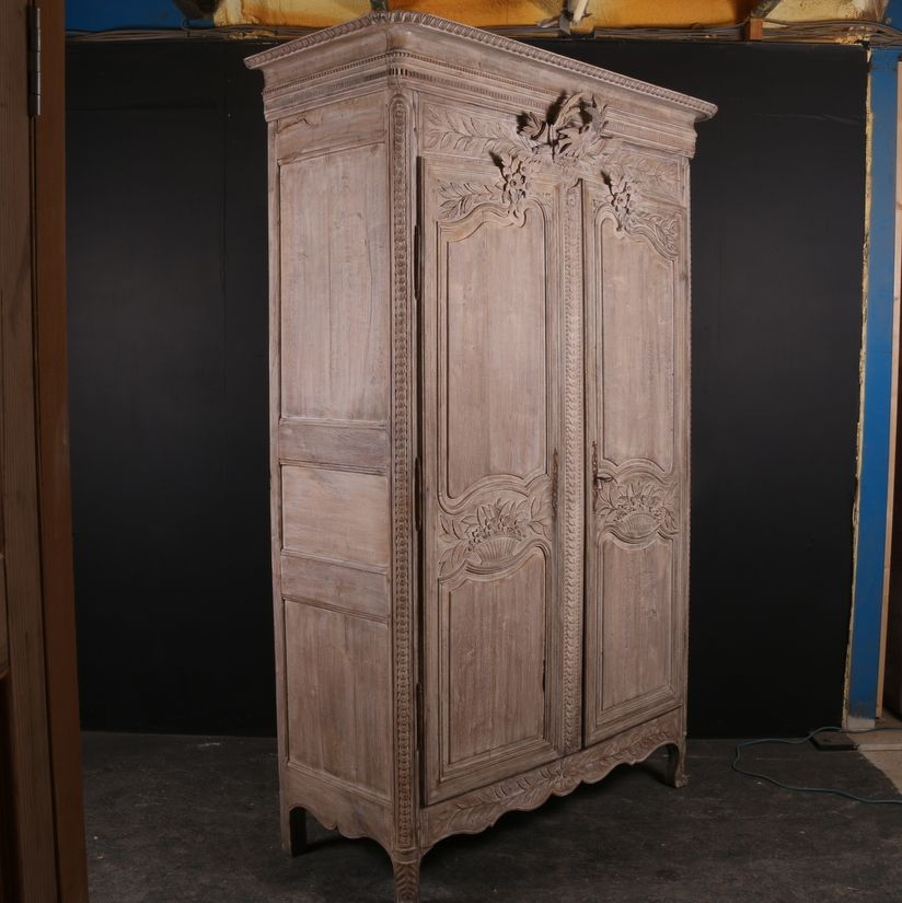 French Oak Armoire Read More:- 18th C French bleached oak armoire. 1790 - French Oak Armoire Read More:- 18th C French Bleached Oak Armoire