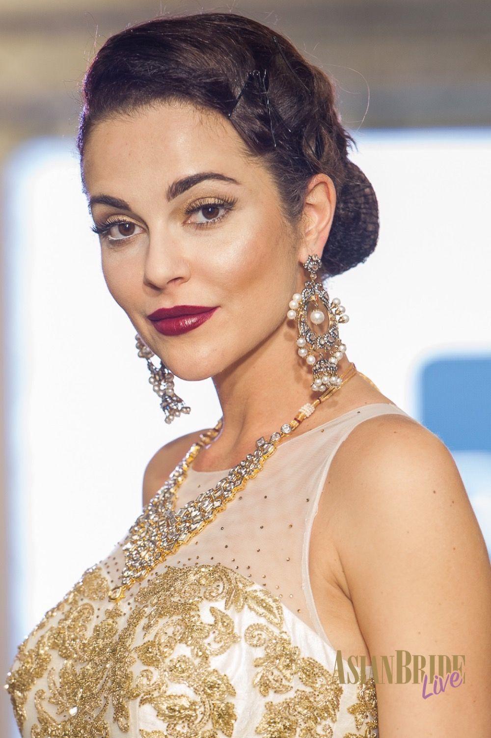 65ad3ca24f White & Gold Bibi London Wedding Dress-INDIAN-PAKISTANI-WEDDING-FASHION
