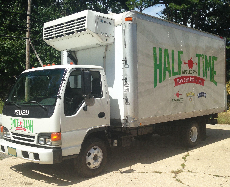 Refrigerated Box Truck Trucks Vehicles Event Marketing
