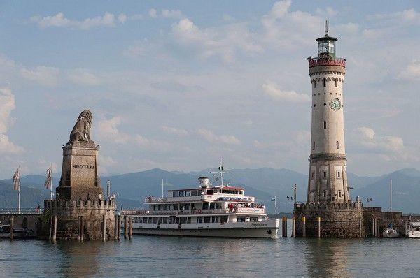 Le Lac De Constance Niche Entre L Allemagne La Suisse Et L