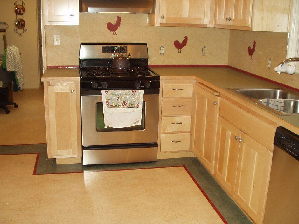 Image Result For Linoleum Border Kitchen Flooring Kitchen Restoration Linoleum Kitchen Floors