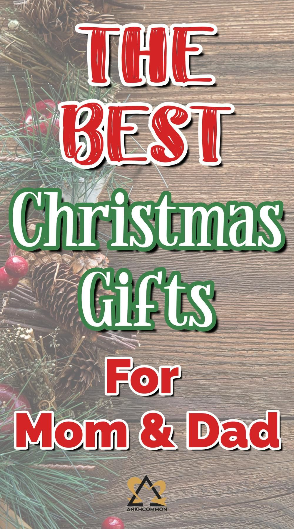 5 Christmas Gift Ideas for Mom and Dad Christmas gifts