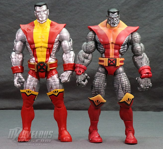 Marvel Comics 80th Anniversary Marvel Legends X-Men Juggernaut Vs
