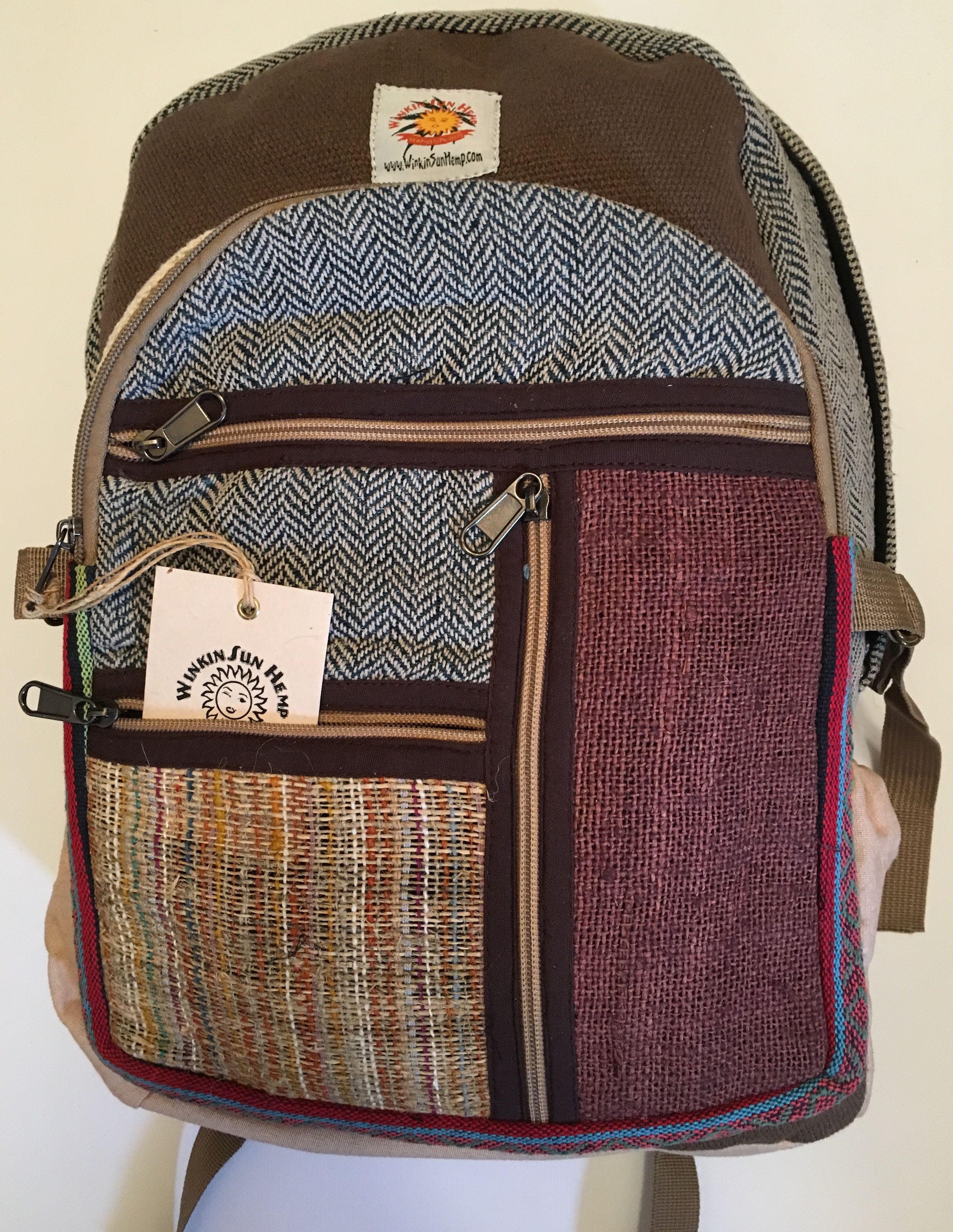 85cec15553 Nepali Hemp Backpack The