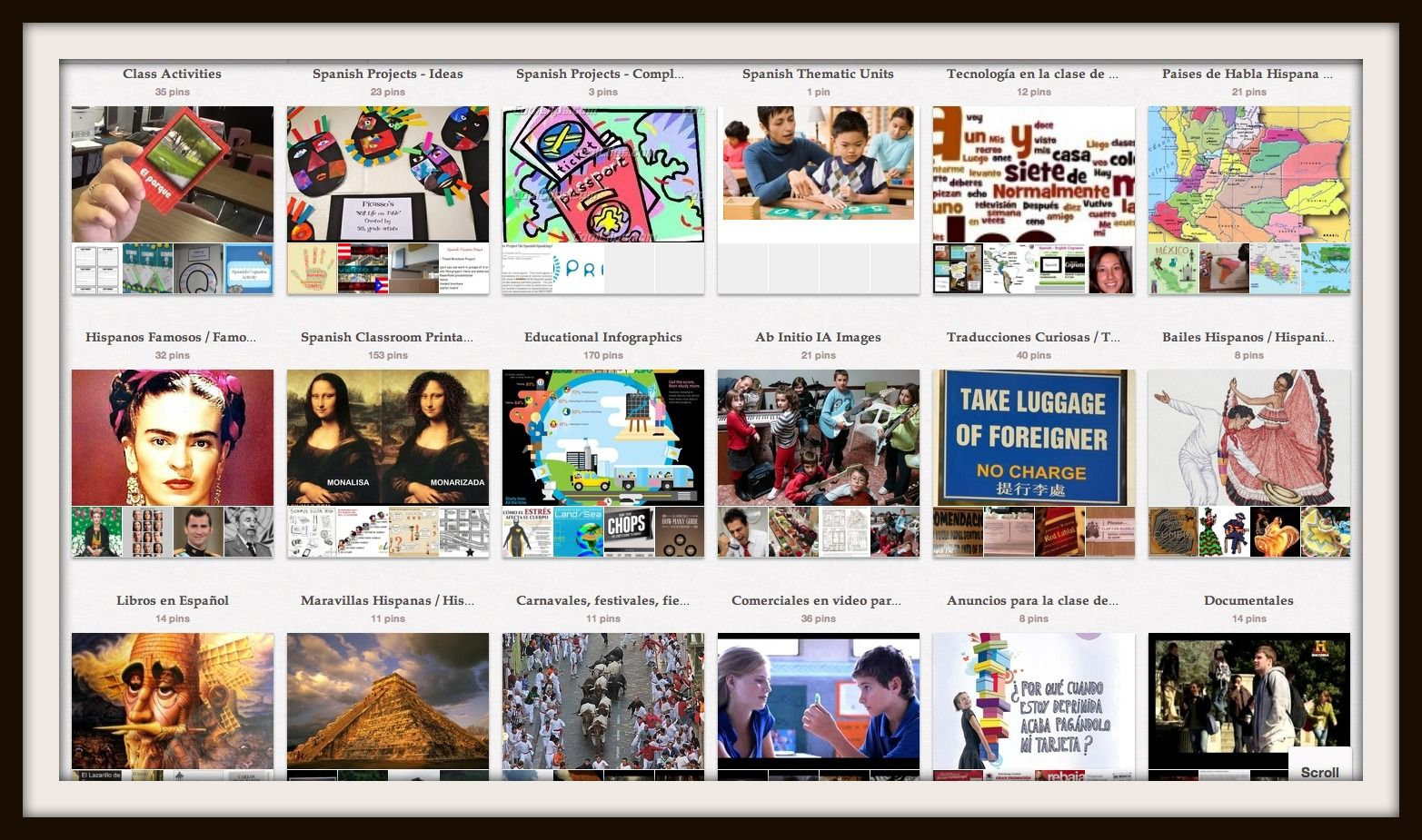 Pinterest in the Foreign Language classroom | Conference