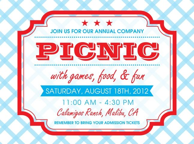 Company picnic invitations picnic invitations company picnic and company picnic invitation google search saigontimesfo