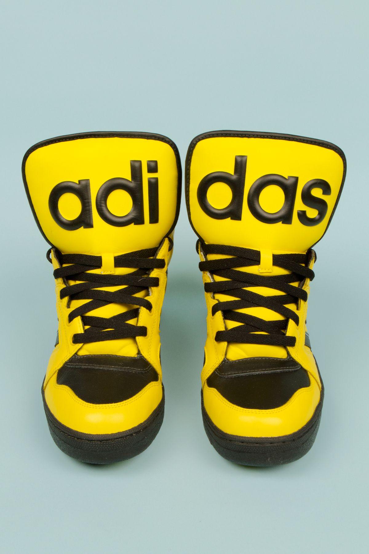 adidas originals x jeremy scott instinct high top sneakers