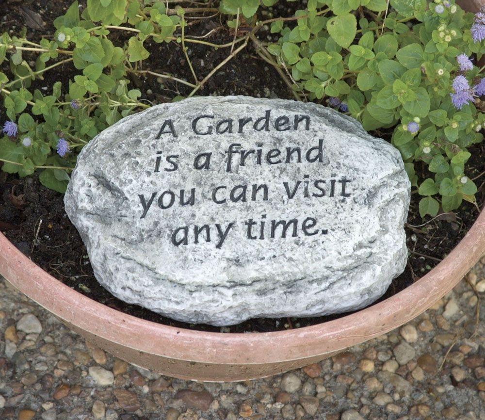 Google image result for http wwwmywatergardenpondcom for Garden stones with sayings